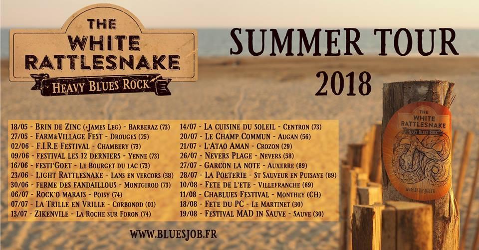 Toutes les dates du «Summer Tour 2018»