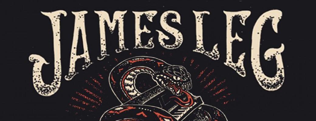 The White Rattlesnake en première partie de James Leg!